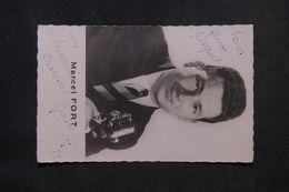 ARTISTE - Marcel FORT - Carte Postale Dédicacée D'époque - P 22705 - Entertainers