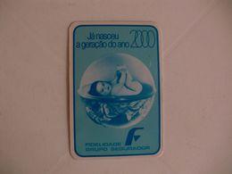 Insurance Assurances Seguros Fidelidade Torres Vedras Portugal Portuguese Pocket Calendar 1982 - Calendriers