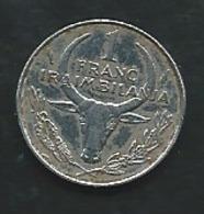 Madagascar 1 Franc 1986  Pia 22409 - Madagascar