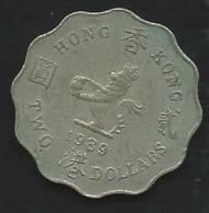 Hong Kong 2 Dollars 1989 Pia 22412 - Hong Kong
