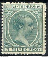 CUBA **143 Nuevo Sin Charnela. Cat.5 € - Cuba (1874-1898)
