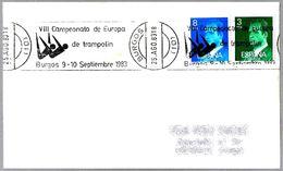 VIII CAMP. DE EUROPA DE TRAMPOLIN - 8th European Champ. Of  DIVING. Burgos 1983 - High Diving