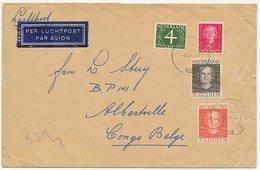 Em. En Face Sliedrecht - Belgisch Congo 1952 - Periodo 1949 - 1980 (Giuliana)