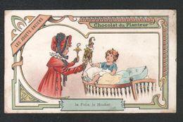 Chomo Chocolat Du Planteur, Les Jouets Anciens, La Folie, Le Hochet - Chocolate