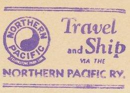 Meter Cut USA 1940 Yin Yang - Northern Pacific - Unclassified