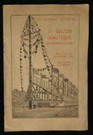 ( Yachting Nautisme ) CATALOGUE OFFICIEL 1er SALON NAUTIQUE INTERNATIONAL PARIS 1926 L. ROSENGART - Schiffe