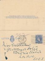 GB 1948 GEORGE VI LETTER CARD - 1902-1951 (Kings)