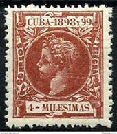 CUBA **157 Nuevo Sin Charnela. Cat.8 € - Cuba (1874-1898)
