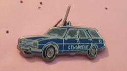 PINS VEHICULE GENDARMERIE / PEUGEOT 504 1972  / BALLARD - Police