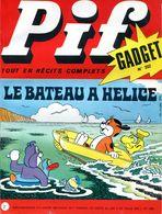 Pif Gadget N°222 -  Teddy Ted -  Bob Mallard Et Puchon - Pif Gadget