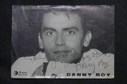 ARTISTE - Danny BOY - Carte Postale Dédicacée D'époque - Etat Moyen - P 22731 - Entertainers