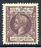 CUBA **169 Nuevo Sin Charnela. Cat.4,75 € - Cuba (1874-1898)