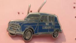 PINS VEHICULE GENDARMERIE / RENAULT 4L 1962  / BALLARD - Police