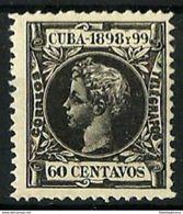 CUBA **170 Nuevo Sin Charnela. Cat.5,50 € - Cuba (1874-1898)