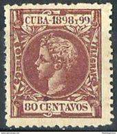 CUBA **171 Nuevo Sin Charnela. Cat.27 € - Cuba (1874-1898)
