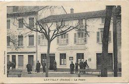 LENTILLY La Poste - France