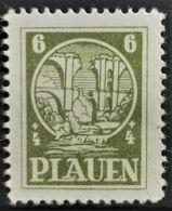 1945 Plauen Zerstörte Elsterbrücke Postfrisch** MiNr: 2 - Allemagne