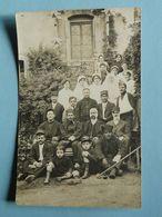 Militaria -- Carte-photo - Militaires Blessés Et Infirmières - TRES ANIMEE - Guerre 1914-18