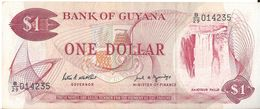 GUYANA - 1 DOLLARS (014235) - Guyana