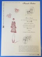 Timbre De 2008 N° 4128/4129  Avec Oblitération Cachet à Date 2008 Sur Feuille   TTB - Used Stamps