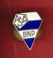 INSIGNE EMAIL 1970 ASSOCIATION SPORTIVE ET CULTURELLE DE LA BNP BANQUE NATIONALE DE PARIS ASC - Organisations