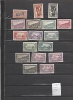 Sénégal Lot Collection 17 Timbres ( 14 Neufs Sans Gomme, 2 Avec Charnière, 1 Oblitéré ) - Senegal (1887-1944)