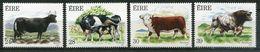 Ireland Mi# 625-8 Postfrisch/MNH - Fauna Cattle - Unused Stamps