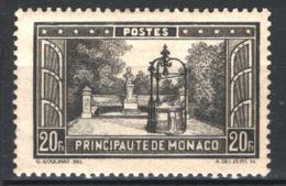 Monaco 1933 Unif. 134 */MVLH VF/F - Unused Stamps