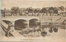 CPA Bourges Pont St Privé Sur L'yevre - Bourges