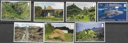 ST. HELENA, 2020, MNH, THE SEVEN WONDERS OF ST. HELENA, TURTLES, WHALE SHARKS , WATERFALLS, NAPOLEON'S HOUSE, 7v - Fische