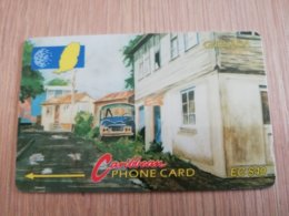 GRENADA  $ 40,- GPT GRE-9CGRC   CARENAGE ST GEORGES         MAGNETIC    Fine Used Card    **2246** - Grenada