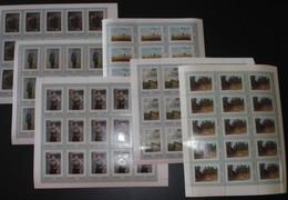 Sowjetunion/Russia 1971 Mi.3930-35 Gemälde Wanderausstellungen 6 KB Zu 15 / Paintings 6 Sheets Of 15 **/MNH - 1923-1991 UdSSR