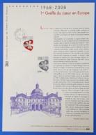Timbre De 2008 N° 4179  Avec Oblitération Cachet à Date 2008 Sur Feuille   TTB - Used Stamps