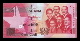 Ghana 1 Cedi 2015 Pick 37f SC UNC - Ghana
