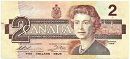 CANADA - 2 Dollars  - 1986 - Pick: 94.b - Sign. Thiessen / Crow - Canada