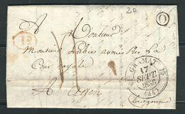 FRANCE 1835 Marque Taxée De Gramat - 1801-1848: Precursores XIX
