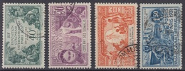 COTE DES SOMALIS : SERIE EXPOSITION DE 1931 N° 137/140 OBLITERATIONS DISCRETES - French Somali Coast (1894-1967)