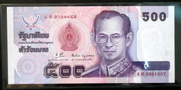 Thailand Banknote 500 Baht Series 14 P#103 SIGN#69 UNC - Thailand