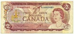 CANADA - 2 Dollars  - 1974 - Pick: 86.a - Sign. Lawson / Bouey - Kanada