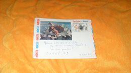 ENVELOPPE DE 1966./ TAHITI PERLE DES MERS DU SUD..CACHETS PAPEETE POUR CORNE FRANCE + TIMBRE - Polynésie Française