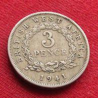 British West Africa 3 Pence 1941 H Afrique - Münzen