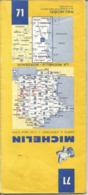 "Carte Michelin N°71 "" La Rochelle - Bordeaux "" De 1984 Au 1/200.000 - Maps/Atlas"