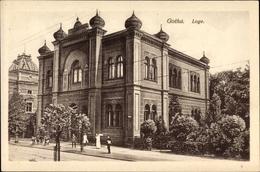Cp Gotha Im Thüringer Becken, Freimaurerloge - Cartes Postales