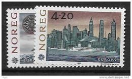 1992 MNH Cept Norway - 1992