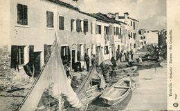VENEZIA , Estuaria , Burano , Rio Cavanella - Venezia (Venedig)