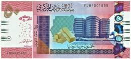 Sudan - 50 Pounds - April 2018 - Pick: New - Unc. - Serie FU - Soudan
