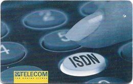 Czech Republic - SPT - ISDN, Chip Gem1A Symmetr. Black, 08.1999, 30Units, 2.500ex, Used Rare! - Tschechische Rep.
