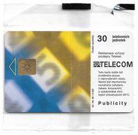 Czech Republic - SPT - Dial-plate 124, Chip Gem1B Not Symmetr. White/Gold, 05.1999, 30Units, 5.000ex, NSB - Tschechische Rep.
