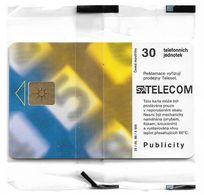 Czech Republic - SPT - Dial-plate 689, Chip Gem1B Not Symmetr. White/Gold, 05.1999, 30Units, 5.000ex, NSB - Tschechische Rep.