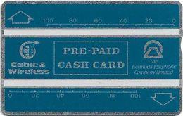 Bermuda - BTC & C&W - L&G - 210A - Blue - 200Units, 10.1992, 2.500ex, Mint - Bermude